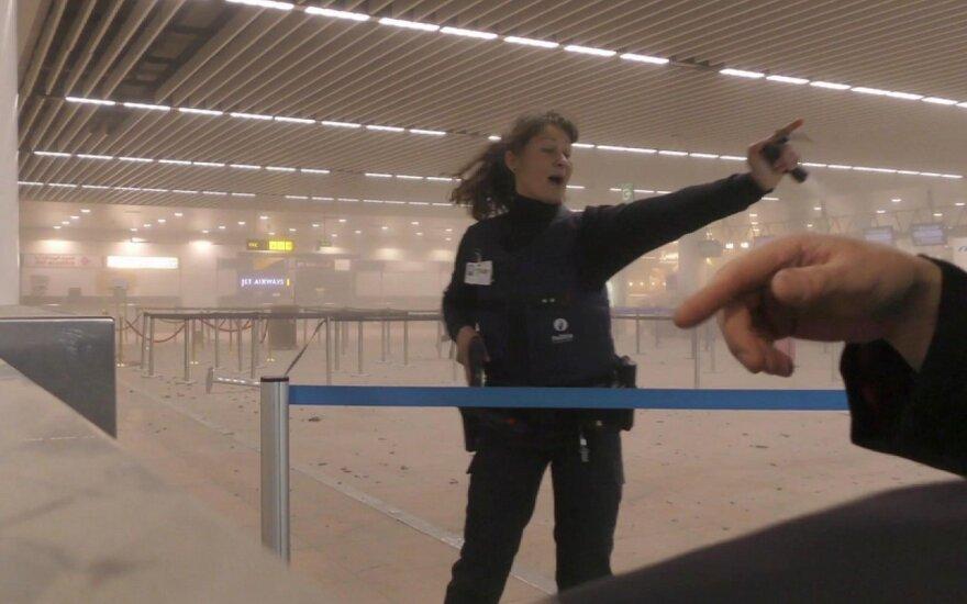 Teroras Briuselyje: griaudėjo sprogimai, paskelbtas aukščiausias teroro grėsmės lygis