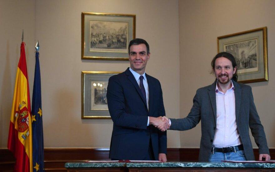 Pedro Sanchezas ir Pablo Iglesias