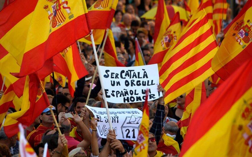 Demonstracija prieš Katalonijos atsiskyrimą nuo Ispanijos