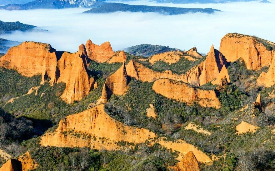 Gamtos ir žmogaus sukurtas stebuklas Ispanijos šiaurėje