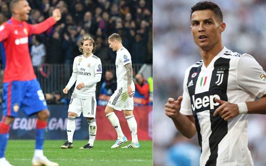 """CSKA – """"Real"""" rungtynės, Cristiano Ronaldo"""