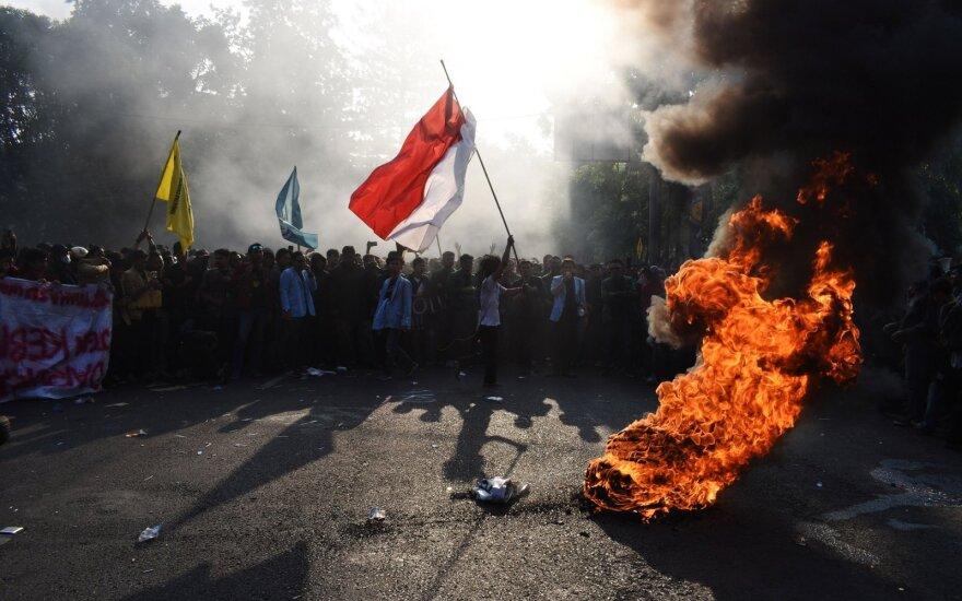 Protestai Indonezijoje