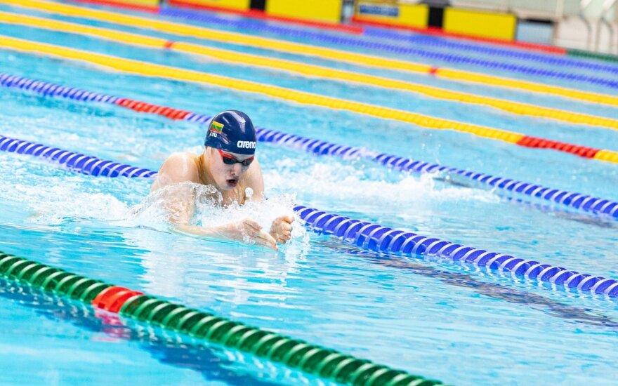 Europos jaunimo olimpiniame festivalyje – Lietuvos plaukikų rekordai ir pirmasis finalas