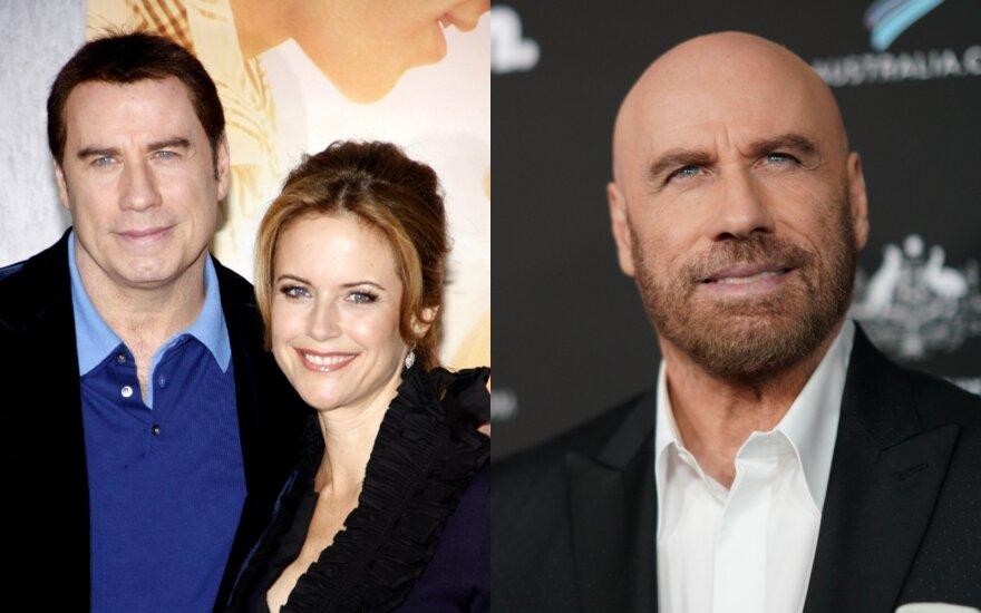 Johnas Travolta su žmona Kelly