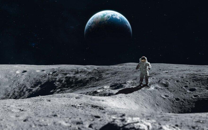 Trumpas paragino NASA liautis kalbėti apie grįžimą į Mėnulį