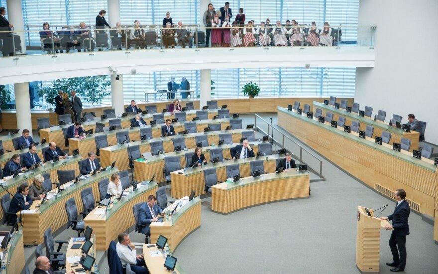 Biudžeto priėmimo išvakarėse Seimas svarsto mokesčių pataisas