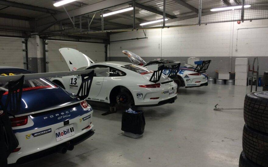 """Juta Racing"" komandos garažas"