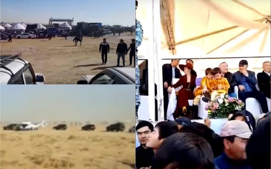 Įtakingo ir turtais aptekusio Kazachstano klano išsidirbinėjimai verčia griebtis už galvos