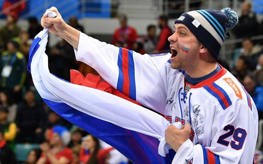 Rusijos olimpinės rinktinės sirgalius