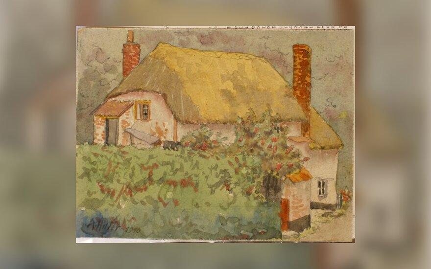 Hitlerio paveikslai Britanijoje parduoti už daugiau kaip 100 tūkst. eurų