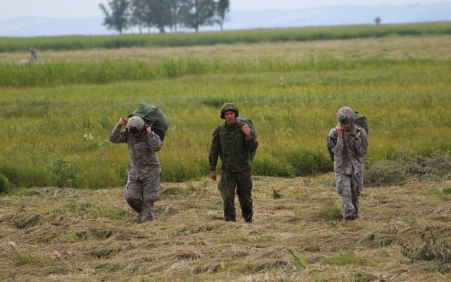 Third rotation of US paratroopers arrive in Lithuania