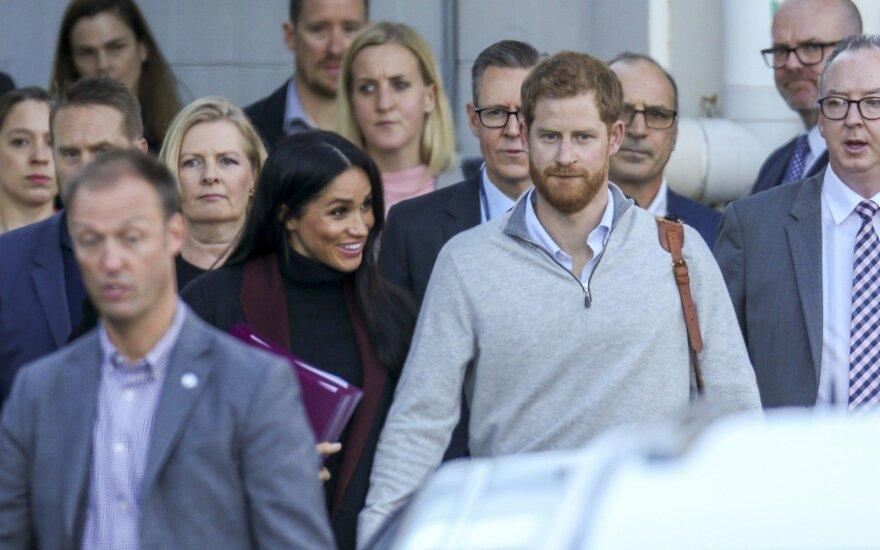 Princas Harry ir Meghan Markle atvyko į Australiją