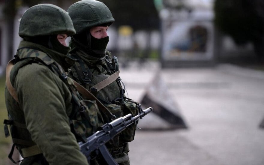 Ukraina įtaria Rusiją dislokavus Kryme branduolinių ginklų