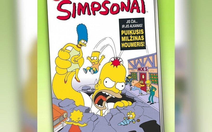 """Lietuviškai bus leidžiamas mėnesinis žurnalas """"Simpsonai"""""""