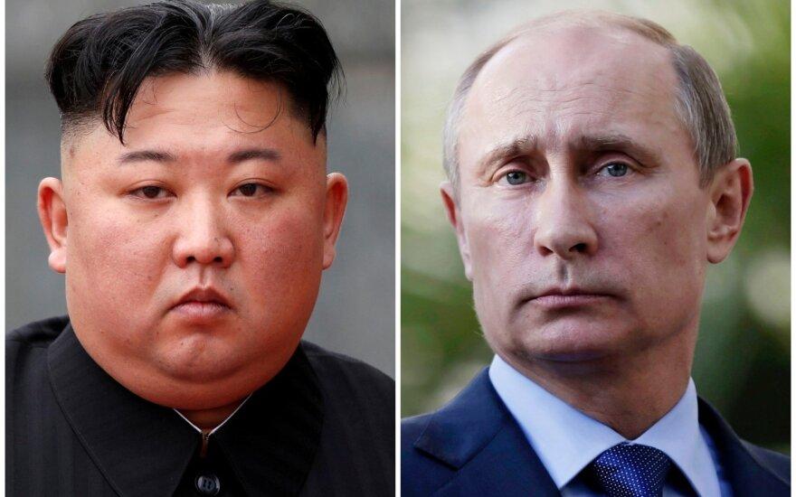 Kim Jong Unas, Vladimiras Putinas
