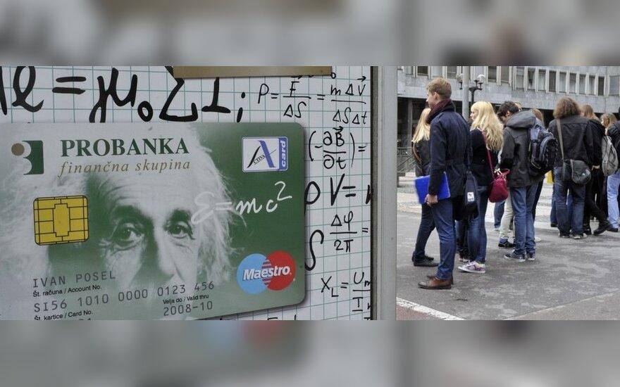 ES pritarė Slovėnijos planui paremti bankus