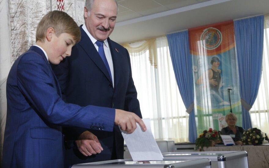 A. Lukašenkos sūnus Kolia nenori būti prezidentas