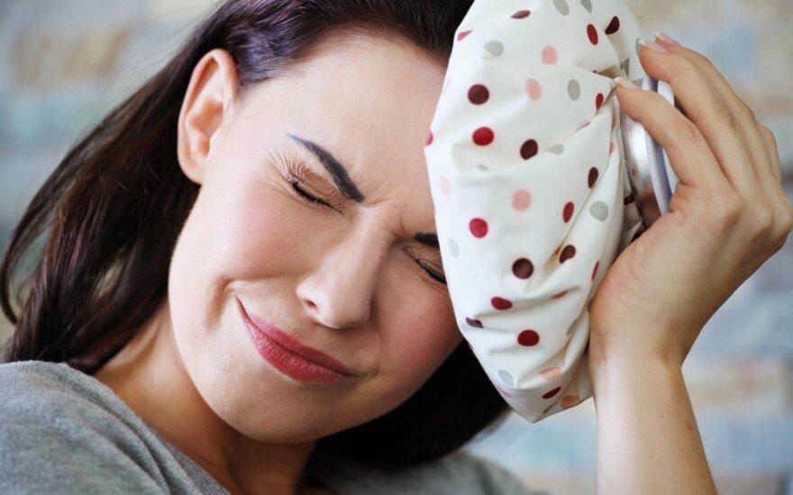 Kas lemia po valgio užeinantį galvos skausmą?