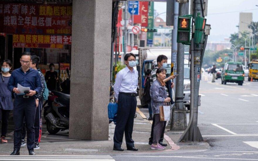 Taivaniečiai saugosi nuo koronavoiruso