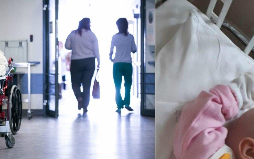 Mamą ligoninėje pribloškė slaugių elgesys su tėvų neturinčiu kūdikiu
