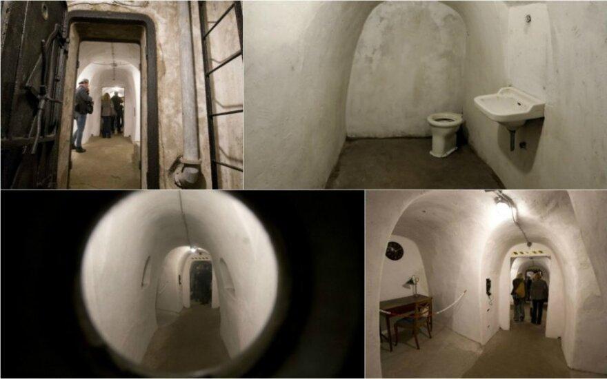 B. Mussolini bunkeriai