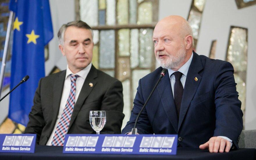 Petras Auštrevičius, Eugenijus Gentvilas