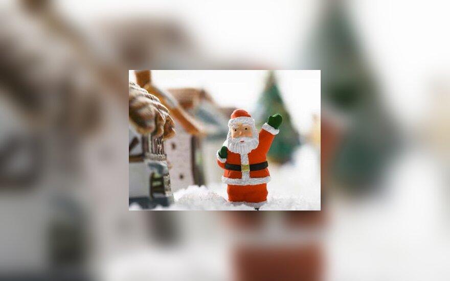 Kalėdos, senelis Šaltis