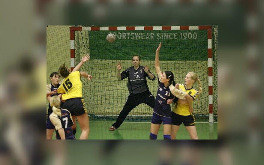 Lyderių pergalės Lietuvos moterų rankinio pirmenybėse