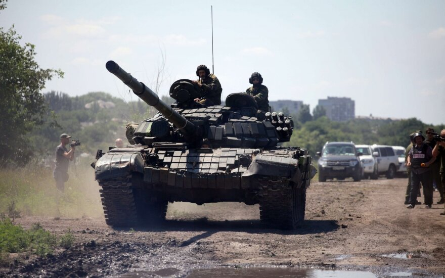 Separatists in Ukraine