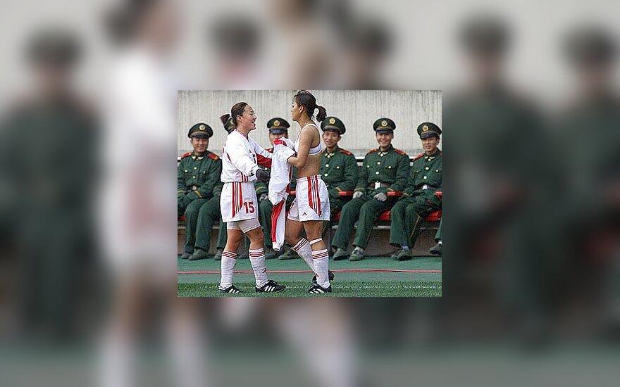 Kinijos futbolininkė