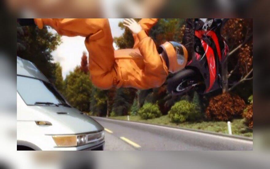 Motociklininkų gyvybes saugantis sprendimas