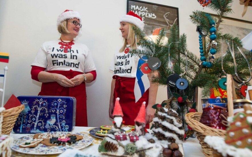 Vilniaus Rotušės aikštėje - tarptautinė Kalėdų labdaros mugė