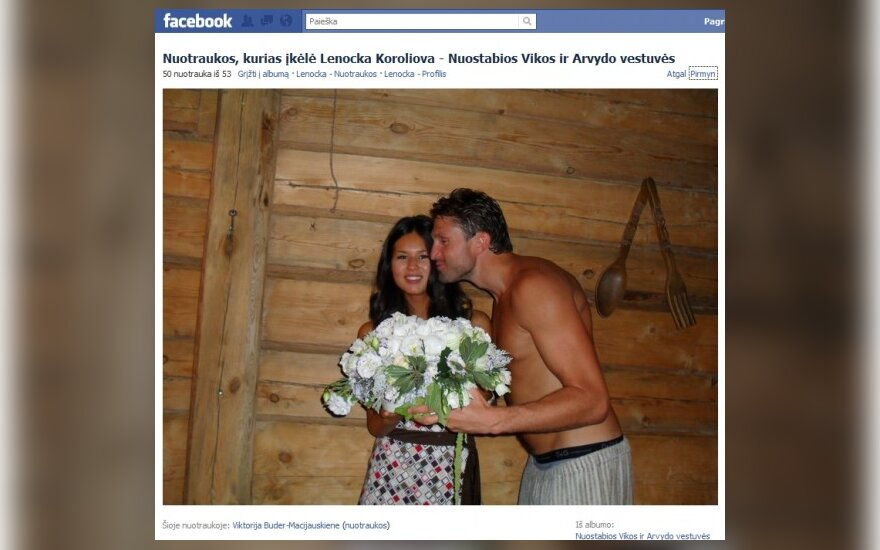 Viktorija Buder-Macijauskienė ir Arvydas Macijauskas