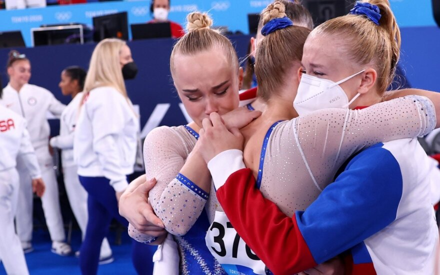 Rusijos olimpinio komiteto gimnasčių komanda