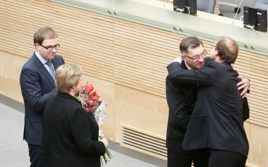 A.Butkevičius Seime patvirtintas ministru pirmininku