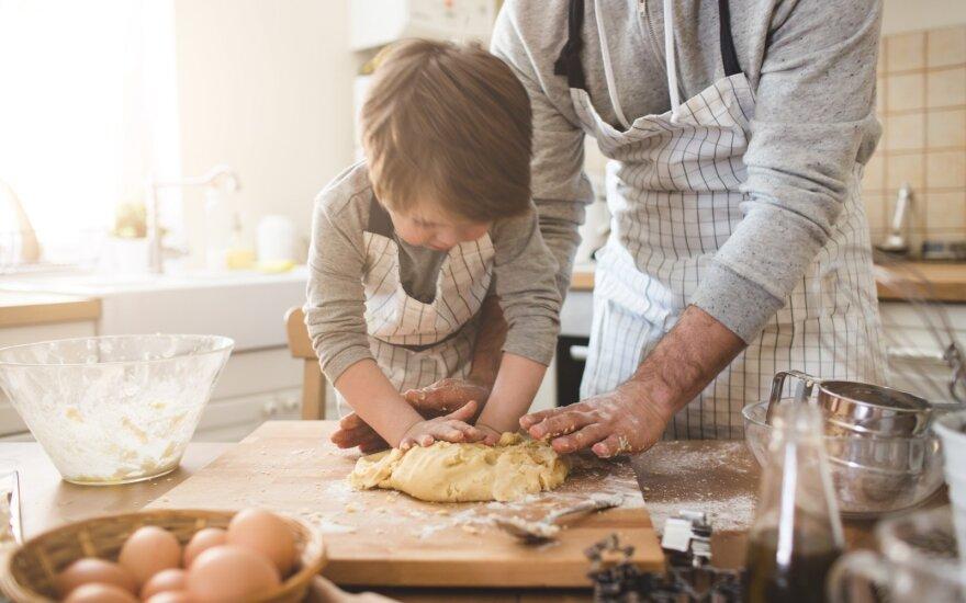 Maisto gaminimas – nuo mažumės