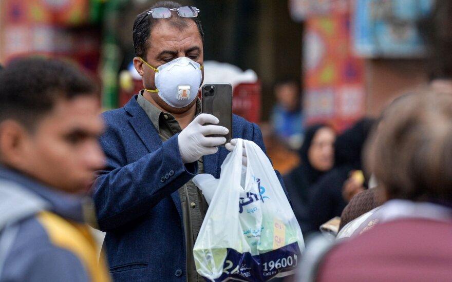Koronavirusas Egipte