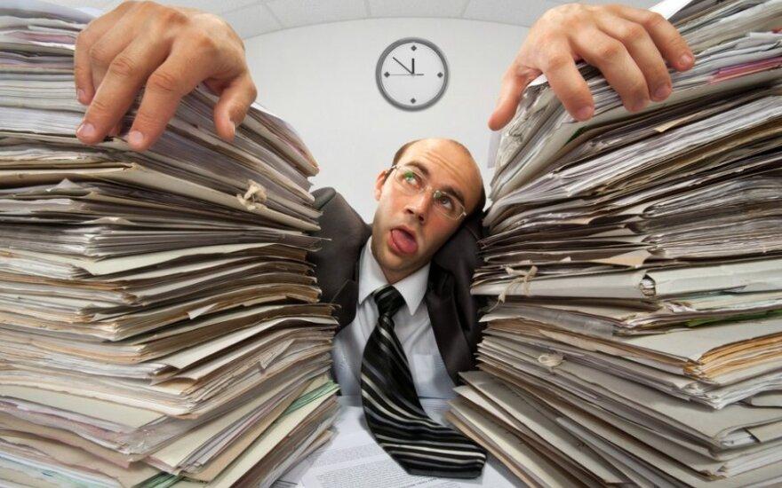 Kiek viršvalandžių dirba lietuviai?