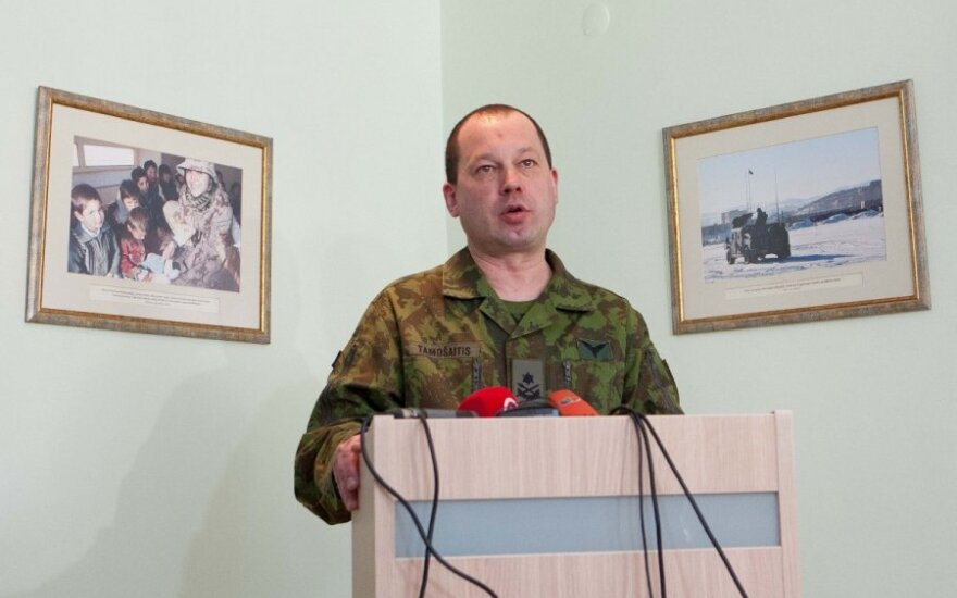 Chief of the Joint Staff Vilmantas Tamošaitis