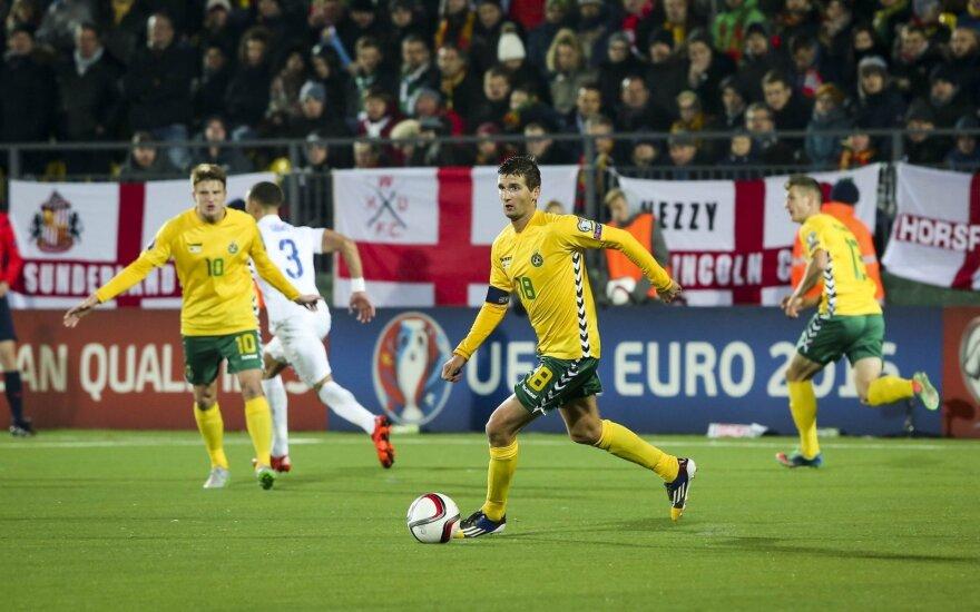 FIFA reitingas: Lietuvos rinktinė palypėjo į viršų, o anglai iškrito iš pirmo 10-uko