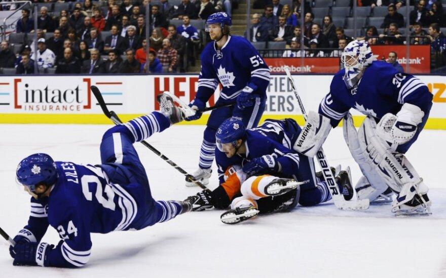 NHL čempionate - ketvirta iš eilės Toronto ledo ritulininkų pergalė