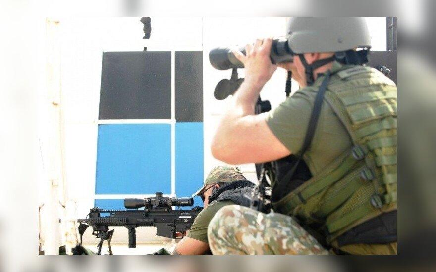 Alytuje bus apdovanoti iš operacijos Malyje grįžę kariai
