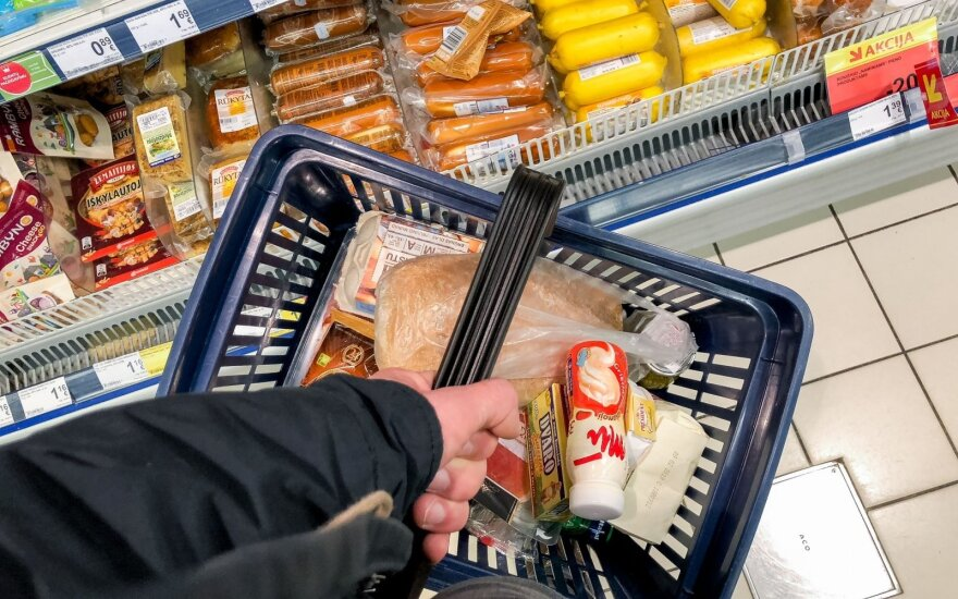 Value of basket of cheapest food products in Lithuania rise EUR 6.5
