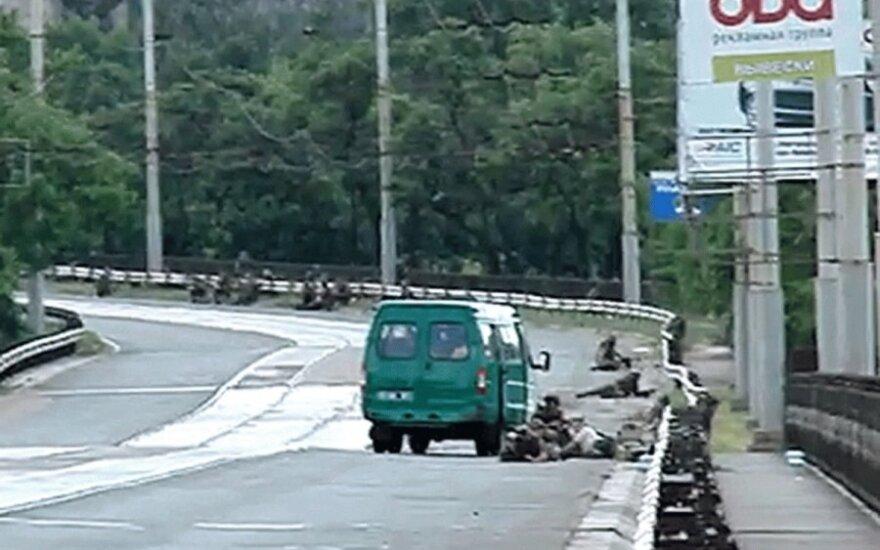 Mariupolyje nušauti Ukrainos pasieniečiai