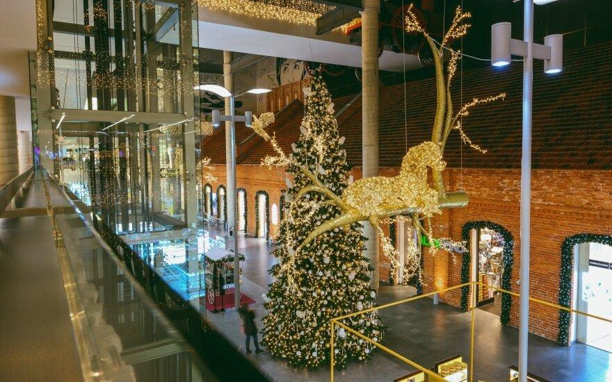 Kalėdos prekybos centre