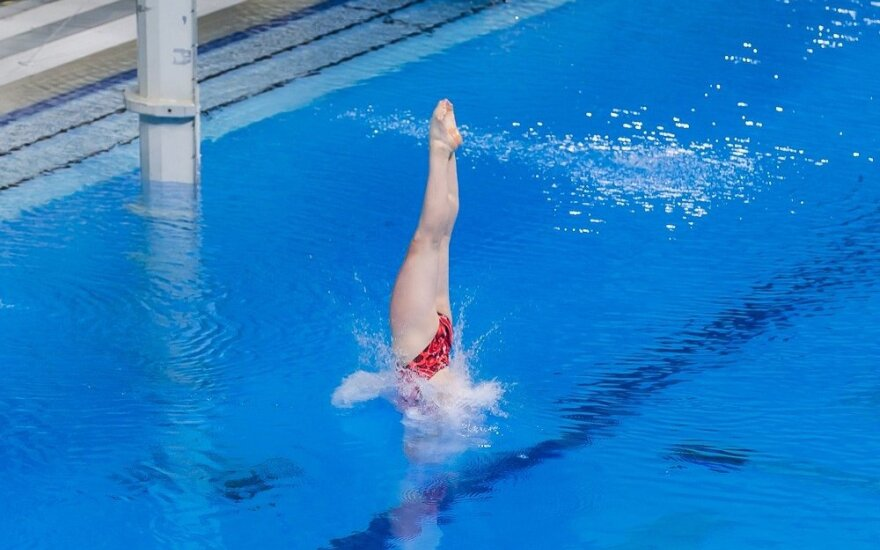 Lietuvos šuolininkės į vandenį Europos čempionate – devintos