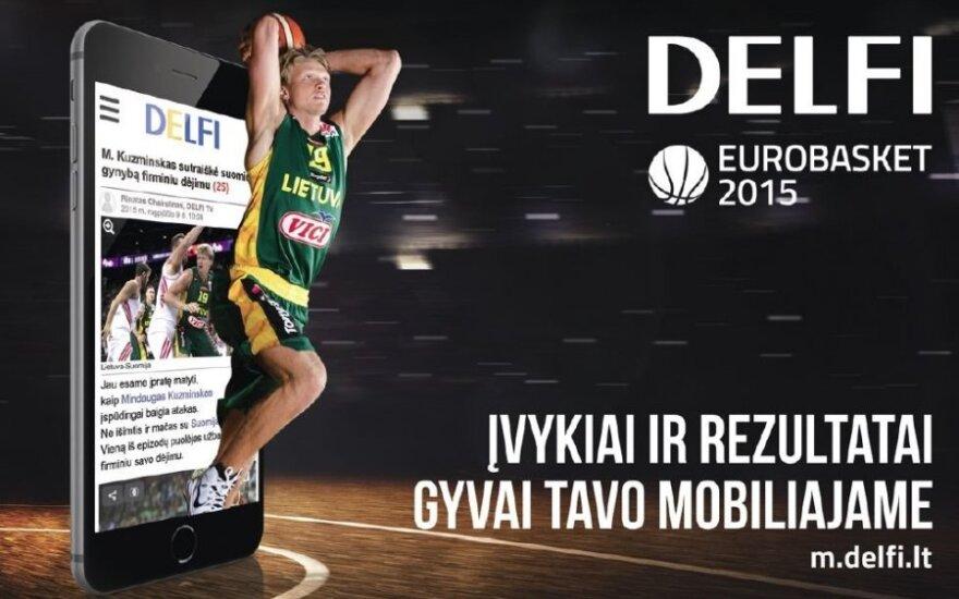 """Krepšinio mylėtojams – DELFI """"Eurobasket 2015"""" plakatai"""