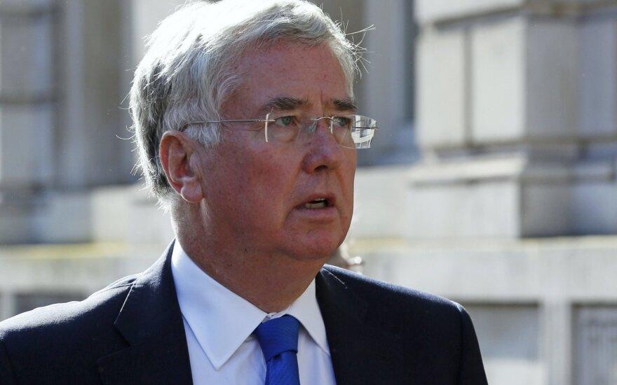UK Defence Secretary Michael Fallon