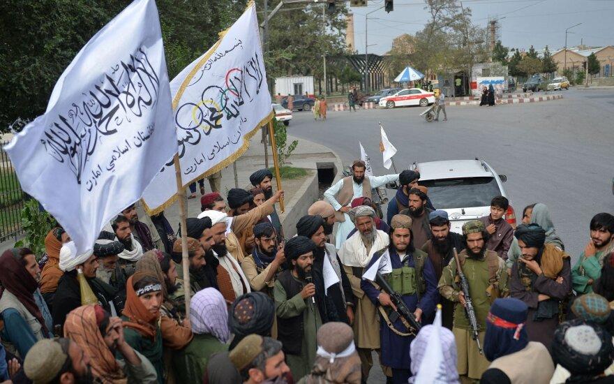 Dėl Afganistano Bideno laukia rimtas išbandymas: gali išsipildyti pražūtingas scenarijus