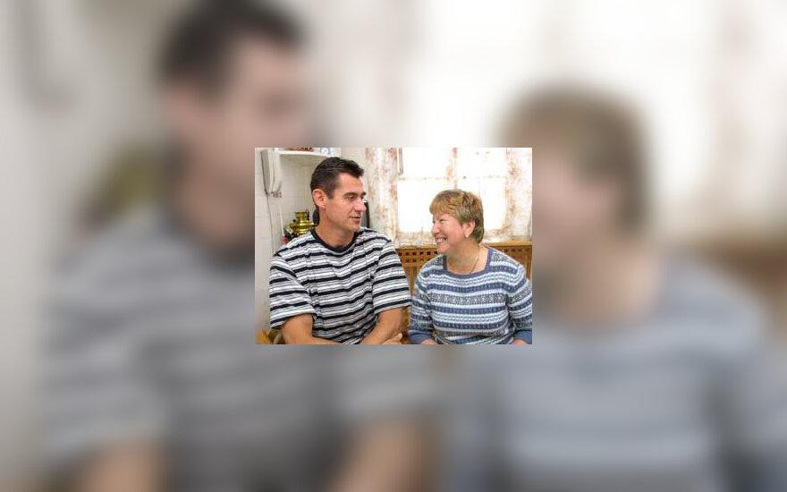 R.Ubartas su žmona